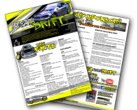 Flyer & Email Proposal - Altezza Drift