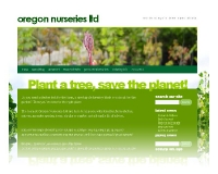 Website - www.oregonnurseries.co.nz